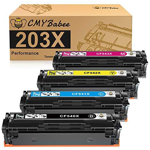 CMYBabee 203X Kompatibel für HP 203X CF540X 203A...