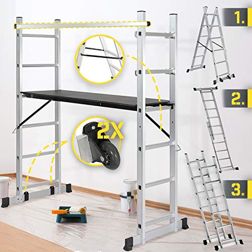 Jago® Baugerüst - Arbeitshöhe max. 280 cm, bis...