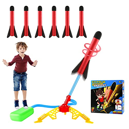 EXTSUD Windspiration Rakete, Stomp Air Rocket mit...