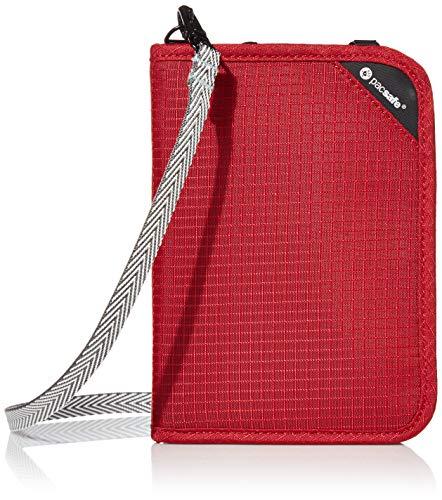 Pacsafe Rfidsafe V150 Rot, Tasche, Größe One...