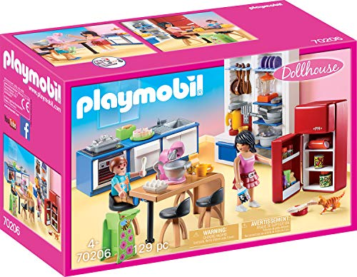 PLAYMOBIL Dollhouse 70206 Familienküche, Ab 4...