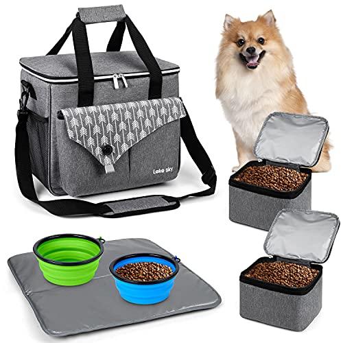 Lekesky Reisetasche für Hund Haustier-Reisetasche...
