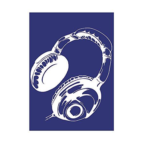 Rayher 4501700, Kopfhörer, DIN A4, 1 Schablone...