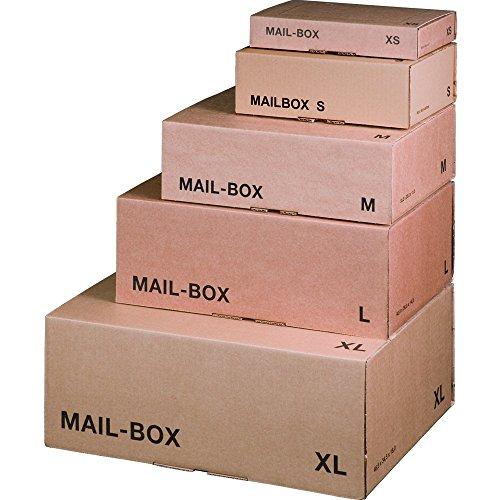 karton-billiger Mail-Box Versandschachtel, XS, S,...