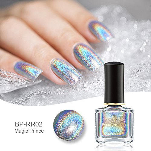 Born Pretty 6ml Holographic Nagellack Shining...