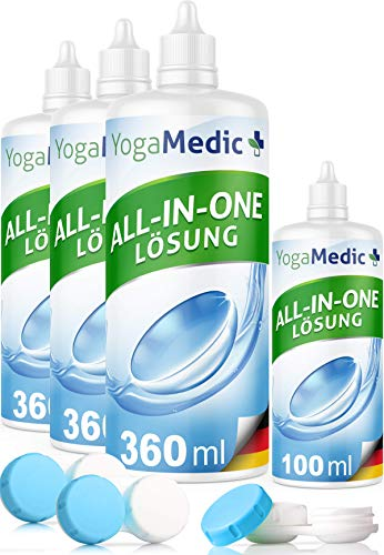 PREMIUM Kontaktlinsen Fluessigkeit für weiche...