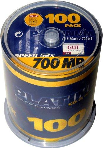 Bestmedia Platinum CD-R700 CD-Rohling 80min 700MB...