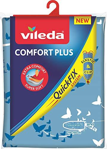 Vileda Comfort Plus Bügelbrettbezug, blau, 3...