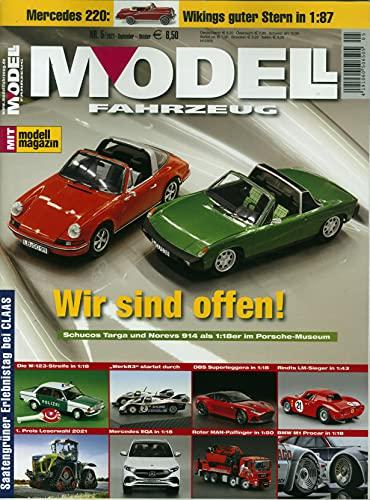 Modell Fahrzeug 5/2021 'Wir sind offen!'