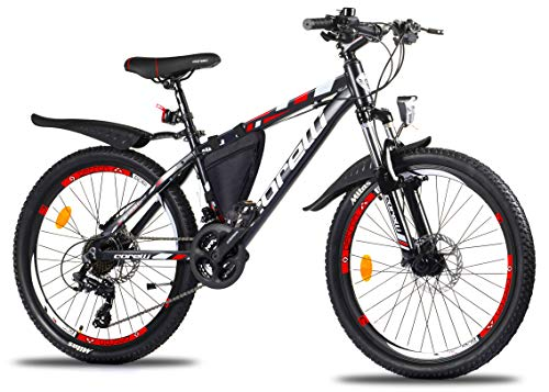 Corelli Dark Mountainbike 29 Zoll, 27,5 Zoll 26...