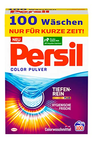 Persil Color Pulver (100 Waschladungen),...