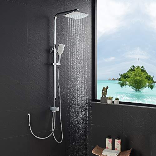 KAIBOR Edelstahl Duschsystem ohne Armatur,...
