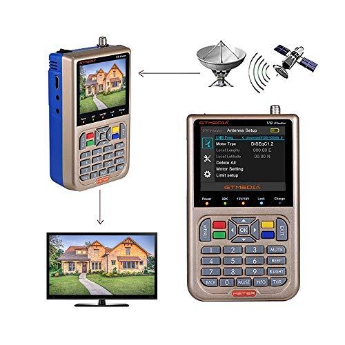 GT MEDIA V8 Satelliten Finder Meter Sat Finder...