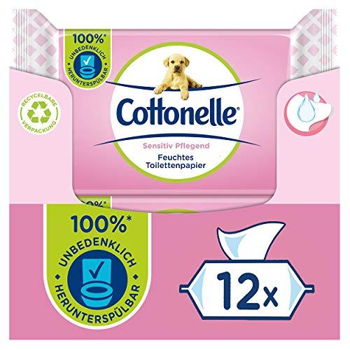 Cottonelle Feuchtes Toilettenpapier, Sensitive...