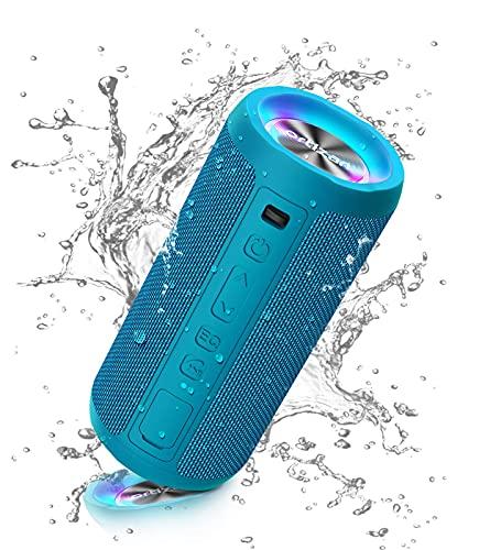Ortizan Bluetooth Lautsprecher mit Licht,...