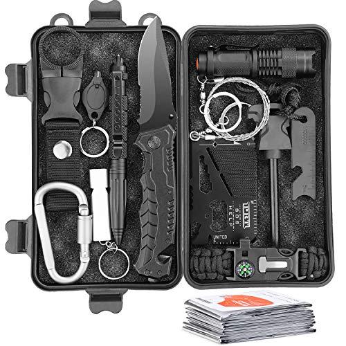Survival Kit 13 IN 1 Multifunktional...