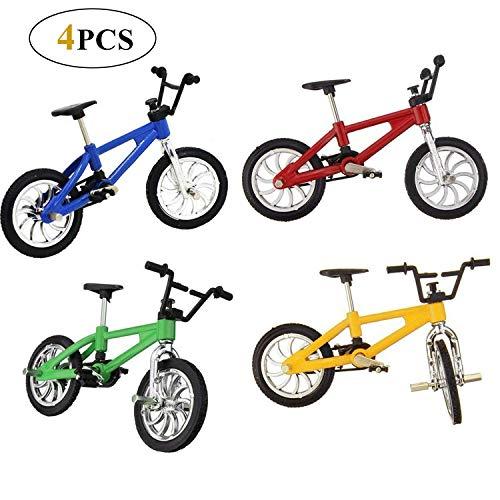Reastar 4 Stück Finger Fahrrad Mini Fahrrad...