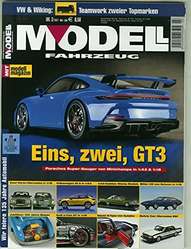 Modell Fahrzeug 3/2021 'Eins,zwei,GT3'
