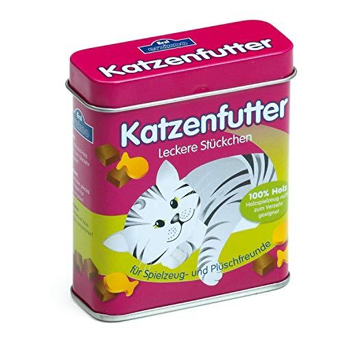 Erzi 18461 Katzenfutter aus Holz in der Dose,...