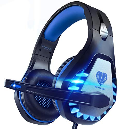 Pacrate Gaming Headset für PC, PS4, PS5, Xbox...