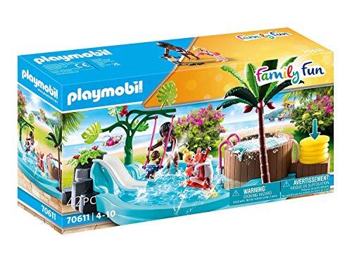 PLAYMOBIL Family Fun 70611 Kinderbecken mit...