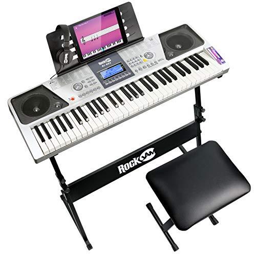 RockJam 61 Tasten Keyboard Klavierset mit...