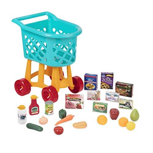 Battat Deluxe Einkaufswagen Kind Spielzeug Set mit...