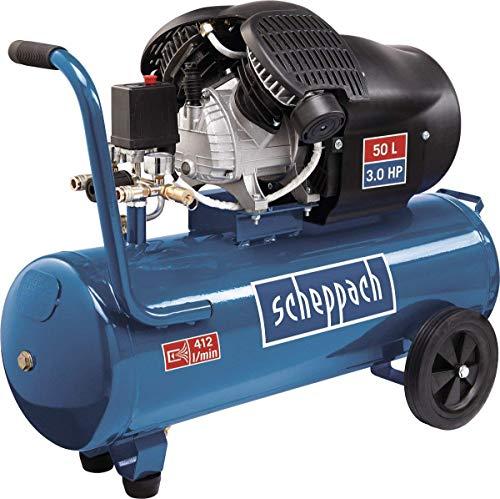 Scheppach Kompressor HC53DC (2200 Watt, 50 L, 10...