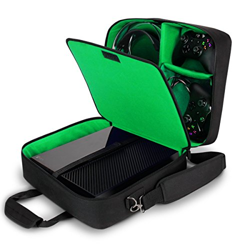 USA Gear Tragetasche für Gaming Konsolen - Schutz...