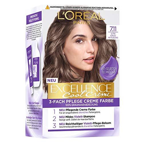 L'Oréal Paris Excellence Cool Creme 7.11 Ultra...