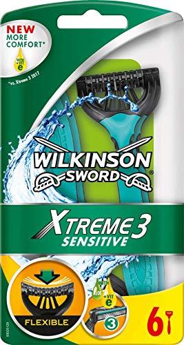 Wilkinson Sword Xtreme 3 Sensitive Einwegrasierer,...