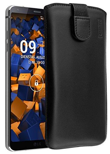 mumbi Echt Ledertasche kompatibel mit LG G6 Hülle...