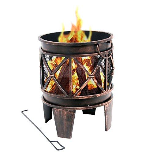 BBQ-Toro Feuerkorb Plum   Ø 42 x 52,5 cm  ...