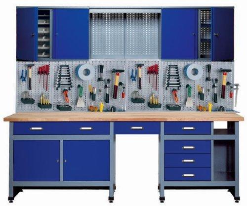 Küpper 70412–7 Set für Werkstatt, 240cm,...