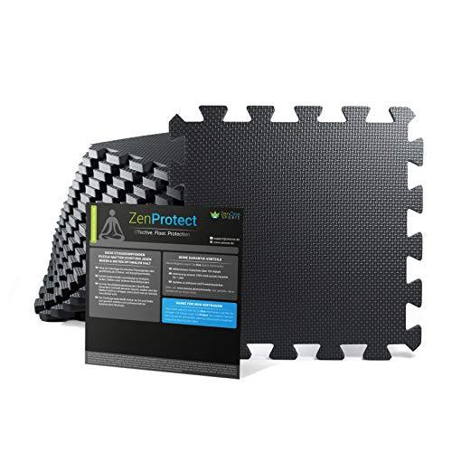 ZenOne Sports Bodenschutzmatte [30x30x1cm] I 18x...