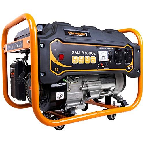 Strahlemann 3300 Watt Benzin-Stromerzeuger...