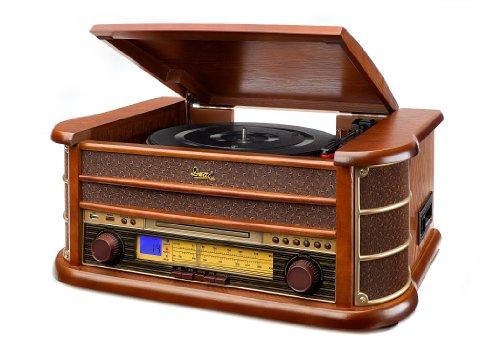 Dual NR 4 Nostalgie Musikanlage mit Plattenspieler...