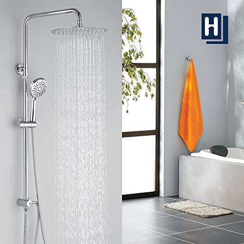 Homelody Duschsystem ohne armatur Duschset...