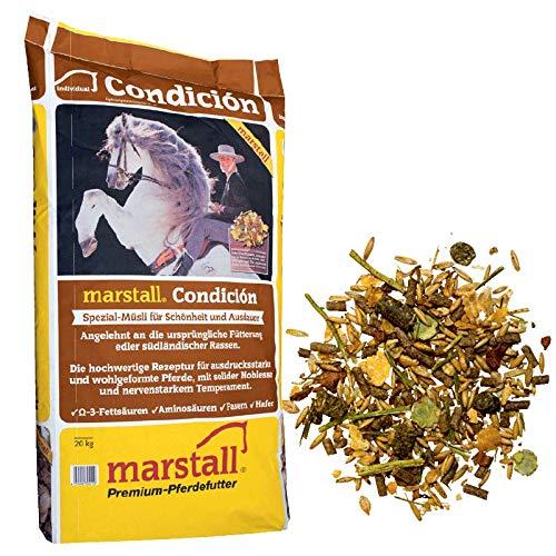 marstall Premium-Pferdefutter Condicion, 1er Pack...