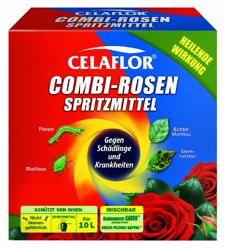 Celaflor Combi-Rosenspritzmittel, Rundumschutz...