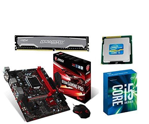 Aufrüstkit MSI B250M Gaming Pro+i5-7600+16GB...