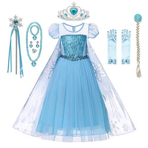 DecStore Mädchen Prinzessin kostüm Kinderkleider...