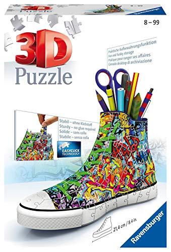 Ravensburger 3D Puzzle 12535 Sneaker Graffiti -...