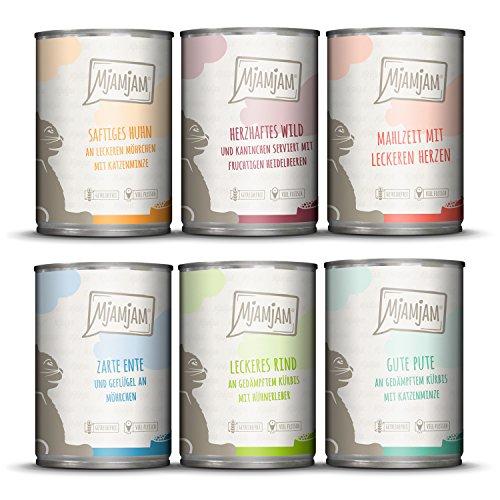 MjAMjAM - Premium Nassfutter für Katzen -...