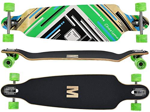 """MAXOfit® Longboard """"Charisma Green""""   Drop..."""