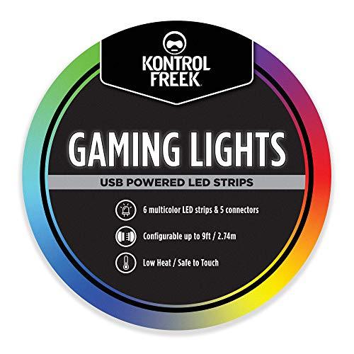 KontrolFreek Gaming Lights: LED Lichtstreifen, USB...