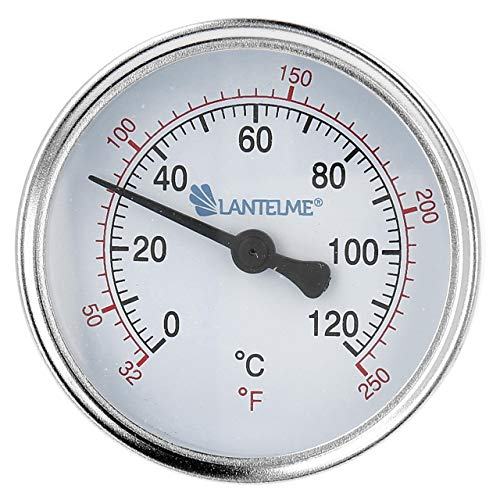 Lantelme Heizungsthermometer 1/2 Zoll 120 Grad...