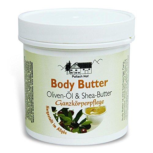 Body Butter - Oliven-Öl und Shea-Butter 250ml...