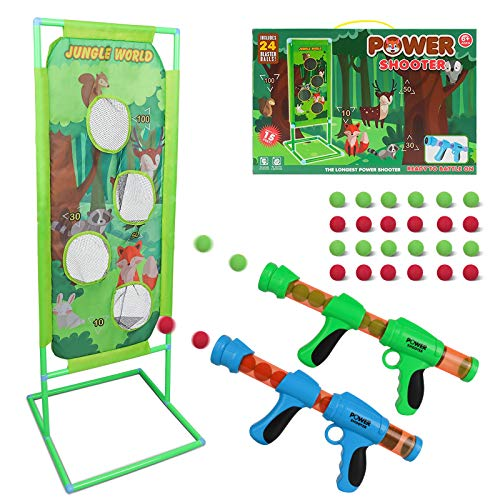 DeeXop Schießspiel für Nerf Kinder Spielzeug...