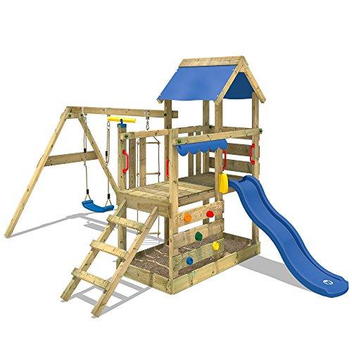 WICKEY Spielturm Klettergerüst TurboFlyer mit...